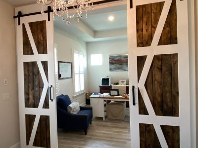 barn doors office